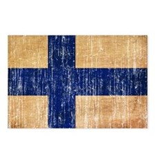 Finland Flag Postcards (Package of 8)