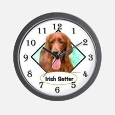 Irish Setter 2 Wall Clock