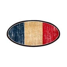 France Flag Patches