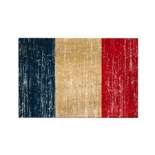 France Flag Rectangle Magnet