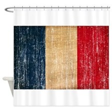 France Flag Shower Curtain