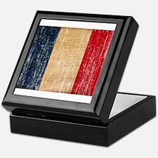 France Flag Keepsake Box