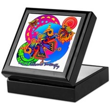 SOCIAL NETWROK BUTTERFLY Keepsake Box