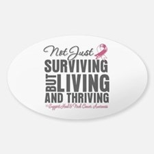 Head Neck Cancer Thriving Decal