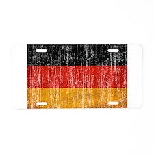 Germany Flag Aluminum License Plate