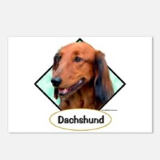 Doxie 4 Postcards (Package of 8)