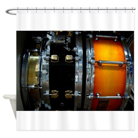 Snares! Shower Curtain