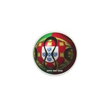 Portugal Soccer Mini Button