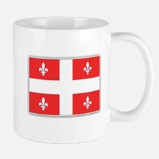 Drapeau Quebec Rouge Mug