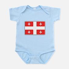 Drapeau Quebec Rouge Infant Bodysuit