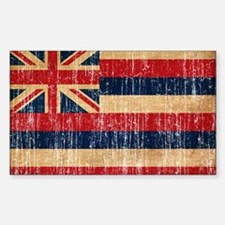 Hawaii Flag Decal