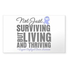 Thriving Esophageal Cancer Decal