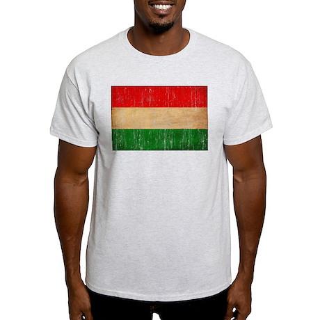 Hungary Flag Light T-Shirt