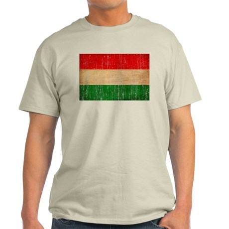 Hungary Flag Light T-Shirt