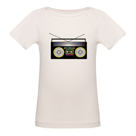 Boom Box Organic Baby T-Shirt
