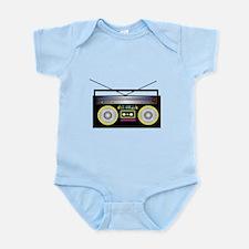 Boom Box Infant Bodysuit