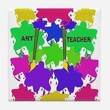 ff art teacher 2.PNG Tile Coaster