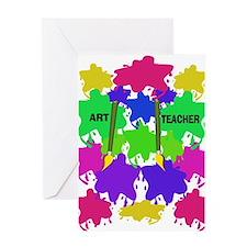 ff art teacher 2.PNG Greeting Card