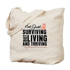 Thriving Endometrial Cancer Tote Bag