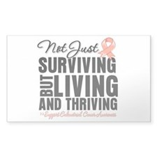 Thriving Endometrial Cancer Decal