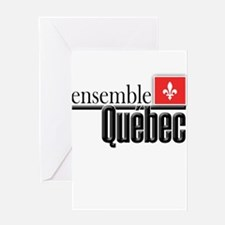 Quebec Ensemble Greeting Card