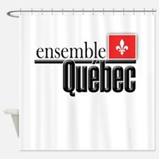 Quebec Ensemble Shower Curtain