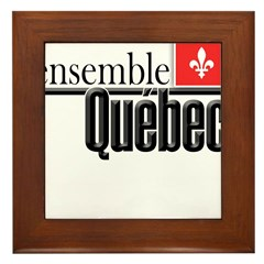 Quebec Ensemble Framed Tile