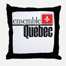 Quebec Ensemble Throw Pillow