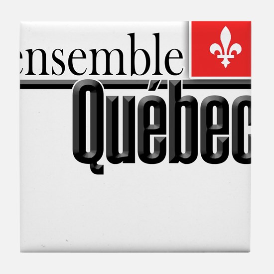 Quebec Ensemble Tile Coaster