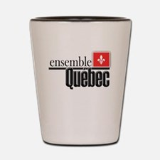 Quebec Ensemble Shot Glass