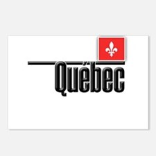 Quebec Red Square Postcards (Package of 8)