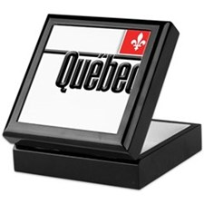 Quebec Red Square Keepsake Box