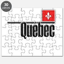 Quebec Red Square Puzzle