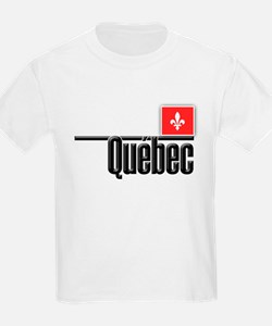 Quebec Red Square T-Shirt