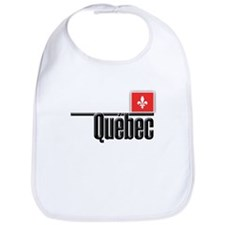 Quebec Red Square Bib