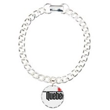 Quebec Red Square Bracelet