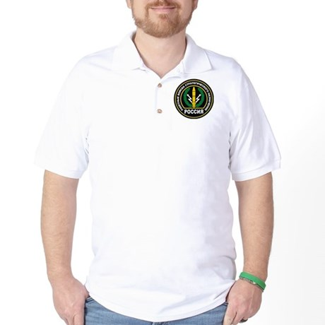 Russian Strategic Missile Forces Badge Golf Shirt