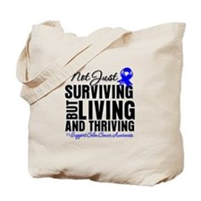 Thriving - Colon Cancer Tote Bag