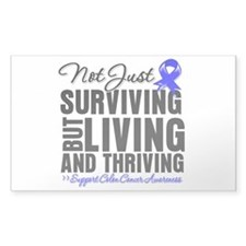 Thriving - Colon Cancer Decal