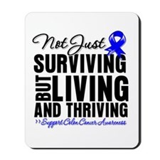 Thriving - Colon Cancer Mousepad