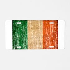 Ireland Flag Aluminum License Plate