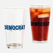 Democrat Drinking Glass