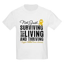 Thriving - Childhood Cancer T-Shirt
