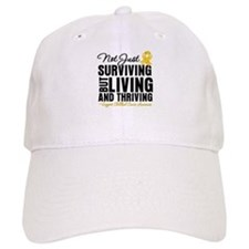 Thriving - Childhood Cancer Baseball Cap