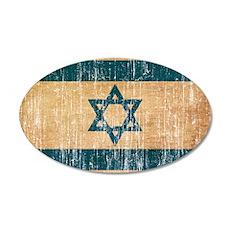 Israel Flag Wall Decal