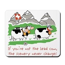 The Lead Cow Mousepad