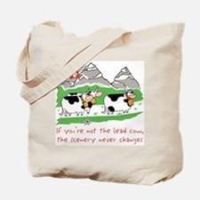 The Lead Cow Tote Bag