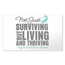 Thriving - Cervical Cancer Decal