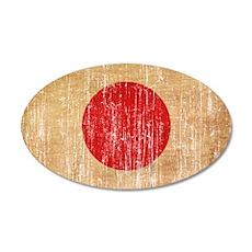 Japan Flag Wall Decal