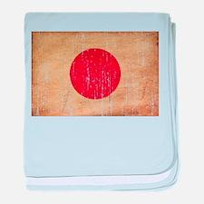 Japan Flag baby blanket